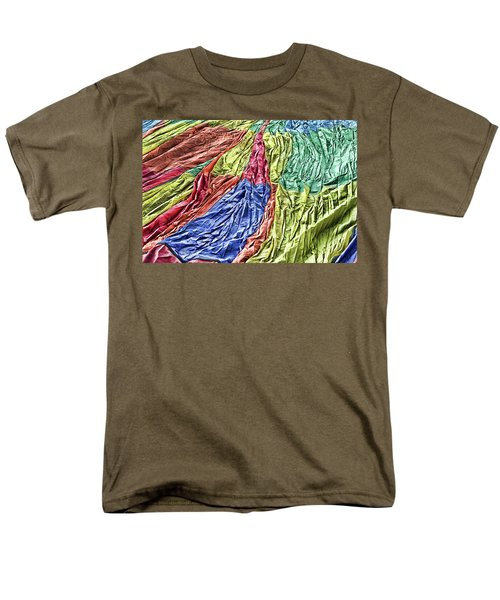 Men's T-Shirt  (Regular Fit) featuring the photograph Balloon Abstract 1 by Marie Leslie