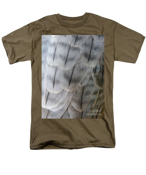 Barbary Falcon Feathers Men's T-Shirt  (Regular Fit) by Lainie Wrightson