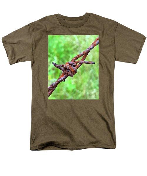 Barbed Men's T-Shirt  (Regular Fit) by Bruce Carpenter