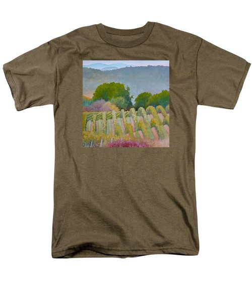 Barboursville Vineyards 1 Men's T-Shirt  (Regular Fit) by Catherine Twomey
