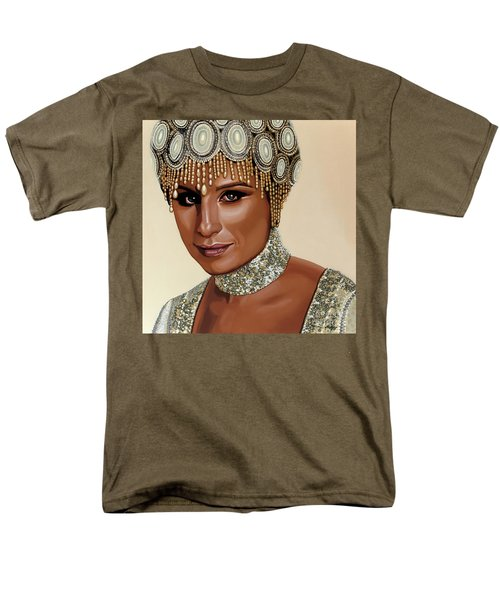 Barbra Streisand 2 Men's T-Shirt  (Regular Fit) by Paul Meijering