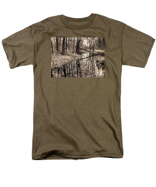 Bare Bones Men's T-Shirt  (Regular Fit) by Betsy Zimmerli