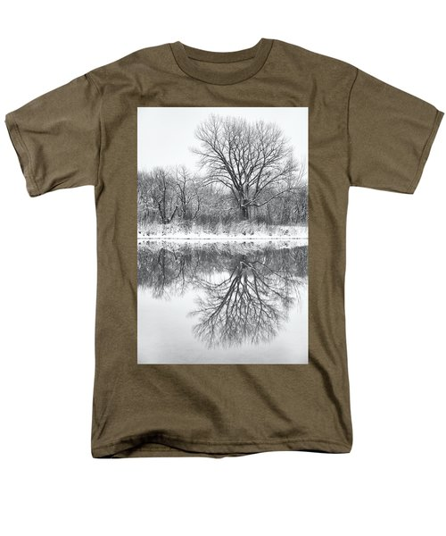 Men's T-Shirt  (Regular Fit) featuring the photograph Bare Trees by Darren White