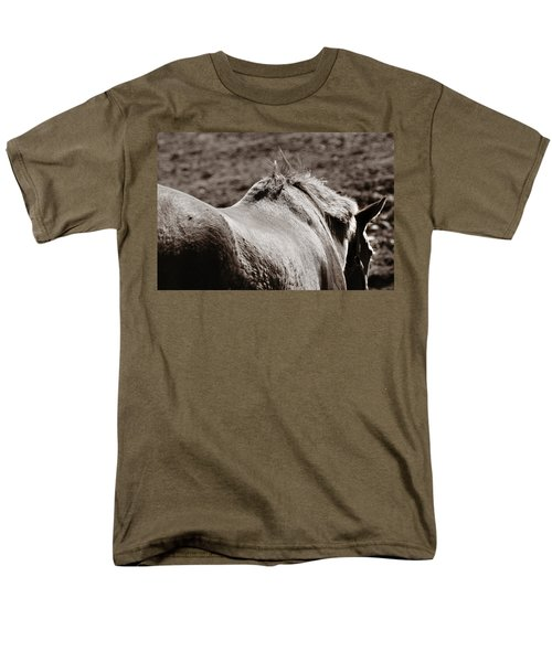Men's T-Shirt  (Regular Fit) featuring the photograph Bareback by Angela Rath