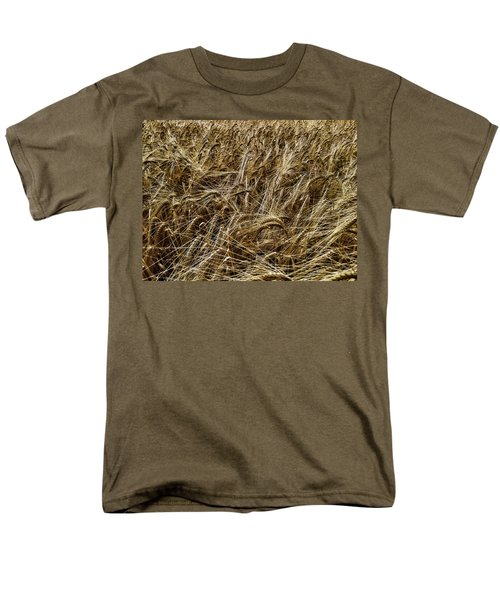 Men's T-Shirt  (Regular Fit) featuring the photograph Barley by RKAB Works