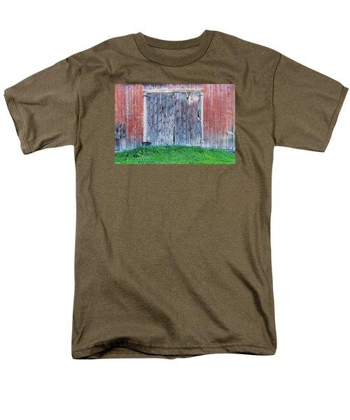 Barn Door Men's T-Shirt  (Regular Fit) by Tom Singleton