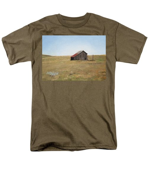 Men's T-Shirt  (Regular Fit) featuring the painting Barn by Joshua Martin