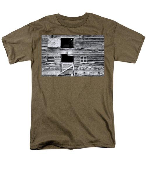 Barn Texture Men's T-Shirt  (Regular Fit) by Wayne Sherriff