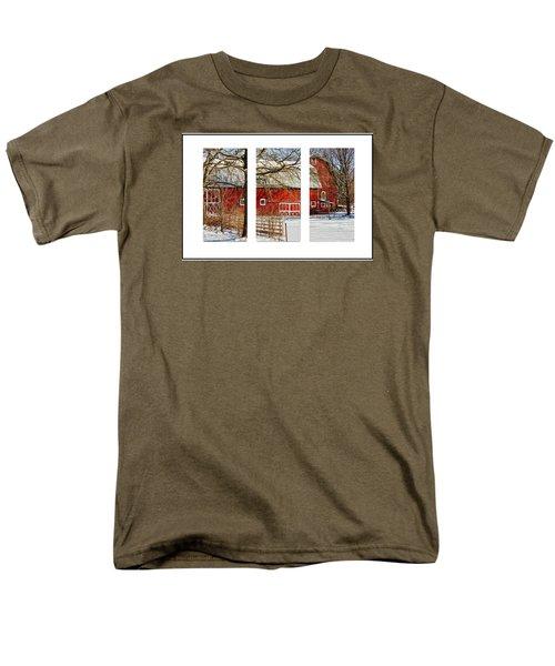 Barn Triptych Men's T-Shirt  (Regular Fit) by Pat Cook