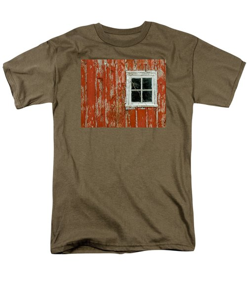 Barn Window Men's T-Shirt  (Regular Fit) by Dan Traun