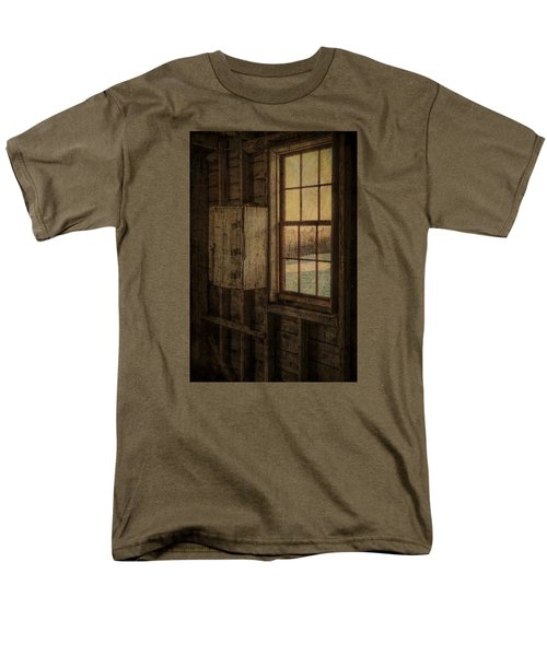 Barn Window Men's T-Shirt  (Regular Fit) by Tom Singleton