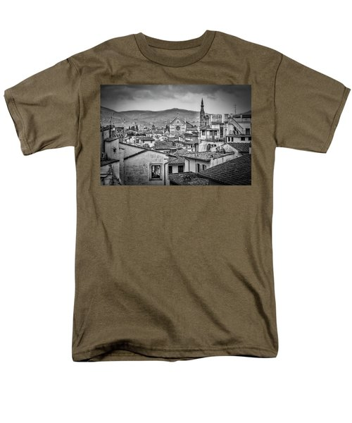 Men's T-Shirt  (Regular Fit) featuring the photograph Basilica Di Santa Croce by Sonny Marcyan