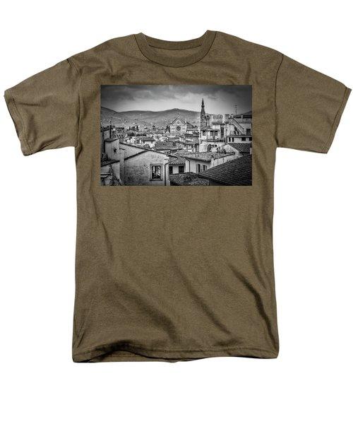 Basilica Di Santa Croce Men's T-Shirt  (Regular Fit) by Sonny Marcyan