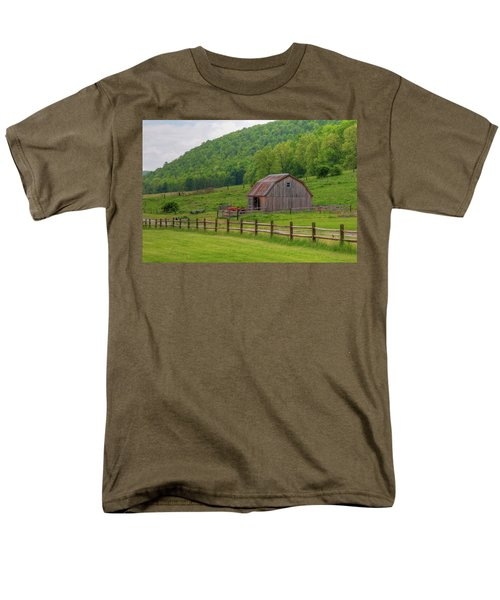 Men's T-Shirt  (Regular Fit) featuring the photograph Bath Barn 0428a by Guy Whiteley