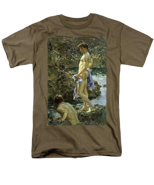 Bathing Group Of 1914 Men's T-Shirt  (Regular Fit)