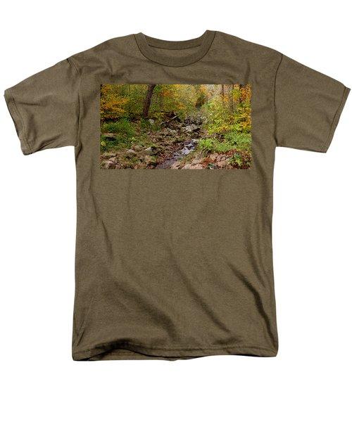 Baxter's Hollow II Men's T-Shirt  (Regular Fit) by Kimberly Mackowski