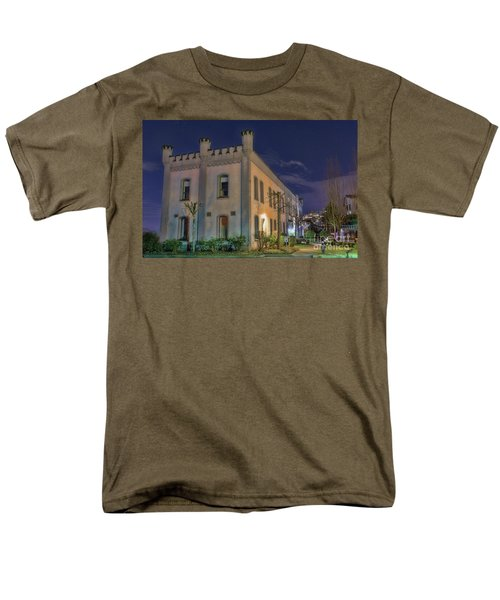 Men's T-Shirt  (Regular Fit) featuring the mixed media B.c.penitentiary by Jim  Hatch