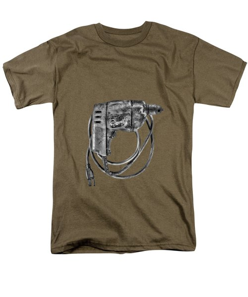Bd Drill Motor Bw Men's T-Shirt  (Regular Fit) by YoPedro