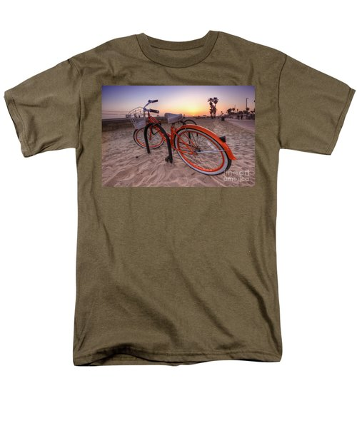Beach Bike Men's T-Shirt  (Regular Fit) by Yhun Suarez