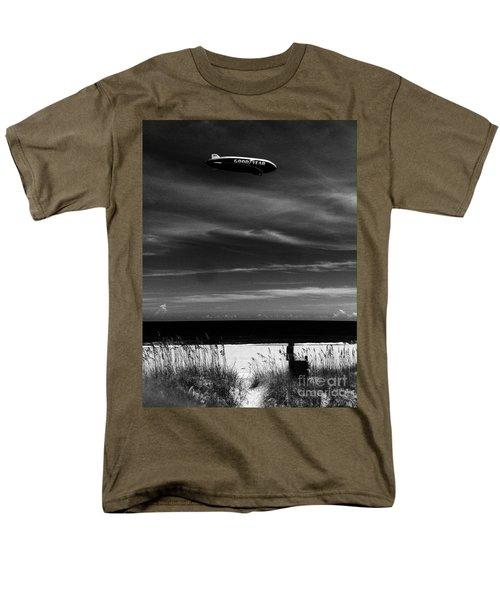 Beach Blimp Men's T-Shirt  (Regular Fit) by WaLdEmAr BoRrErO