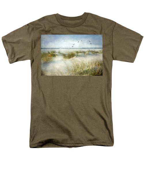 Men's T-Shirt  (Regular Fit) featuring the photograph Beach Dreams by Annie Snel