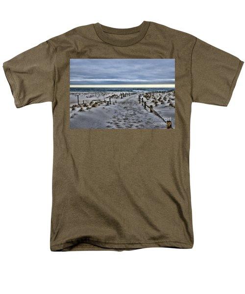 Beach Entry Men's T-Shirt  (Regular Fit) by Paul Ward