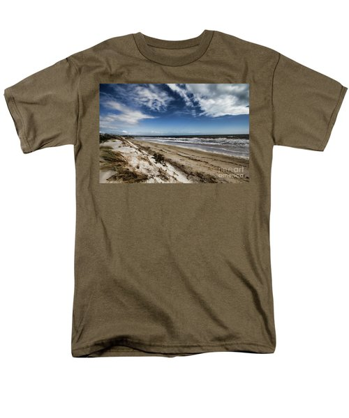 Men's T-Shirt  (Regular Fit) featuring the photograph Beach Life by Douglas Barnard
