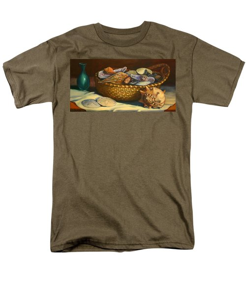 Beach Peace Men's T-Shirt  (Regular Fit) by Dorothy Allston Rogers