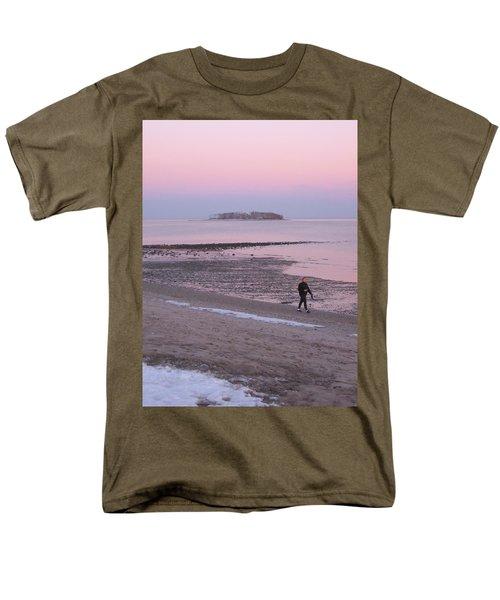 Beach Stroll Men's T-Shirt  (Regular Fit) by John Scates