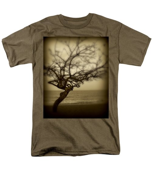 Beach Tree Men's T-Shirt  (Regular Fit) by Perry Webster