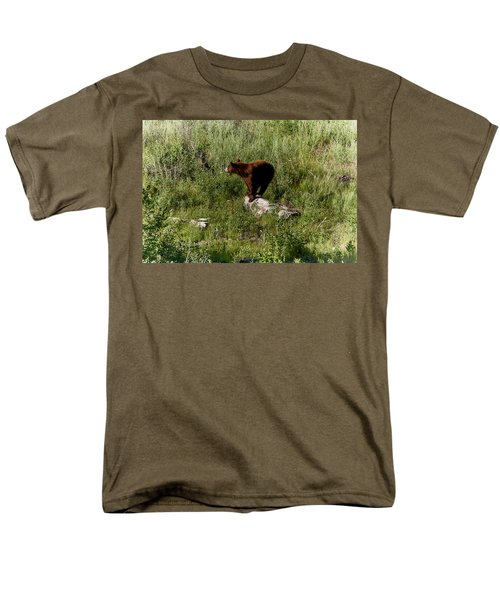 Bear2 Men's T-Shirt  (Regular Fit) by Loni Collins