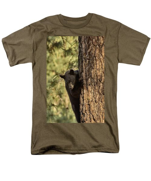 Bear3 Men's T-Shirt  (Regular Fit) by Loni Collins