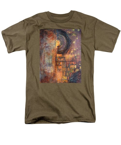 Beautiful Corrosion Men's T-Shirt  (Regular Fit) by Theresa Marie Johnson
