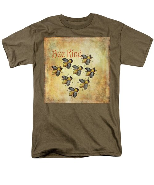 Bee Kind Men's T-Shirt  (Regular Fit) by Kandy Hurley