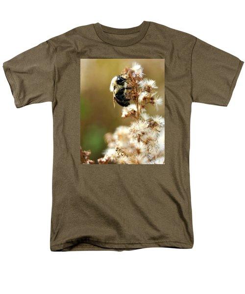 Bee On Goldenrod Men's T-Shirt  (Regular Fit)