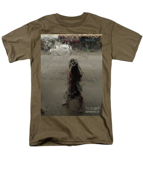 Men's T-Shirt  (Regular Fit) featuring the photograph Behind Glass by Trena Mara