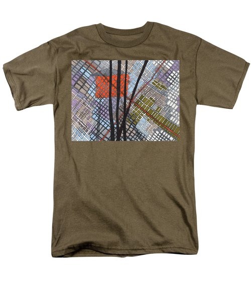 Behind The Fence Men's T-Shirt  (Regular Fit) by Sandra Church