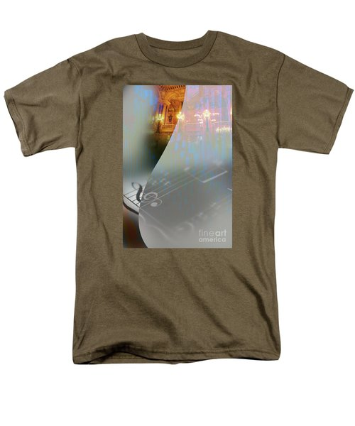 Men's T-Shirt  (Regular Fit) featuring the painting Behind The Vail by Allison Ashton