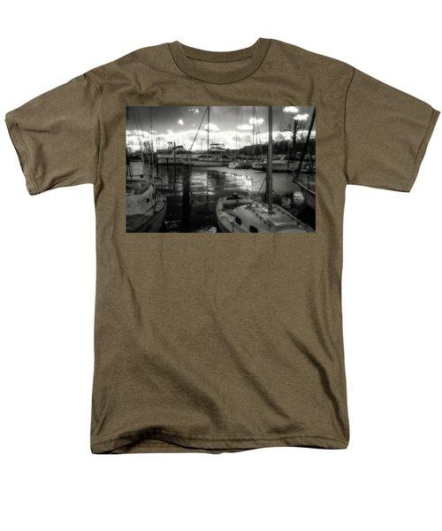 Bell Haven Docks Men's T-Shirt  (Regular Fit) by Paul Seymour