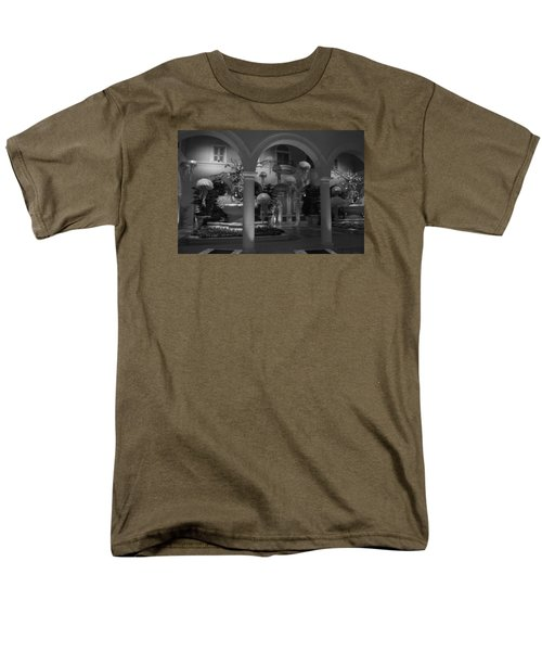 Men's T-Shirt  (Regular Fit) featuring the photograph Bellagio Entrance by Ivete Basso Photography