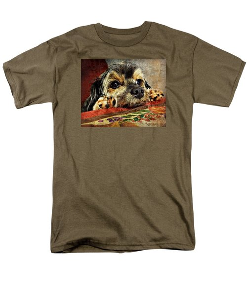 Bella's Thanksgiving Men's T-Shirt  (Regular Fit) by Kathy M Krause