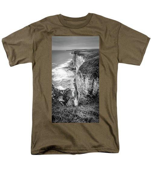 Bempton Cliffs Men's T-Shirt  (Regular Fit) by Nigel Wooding