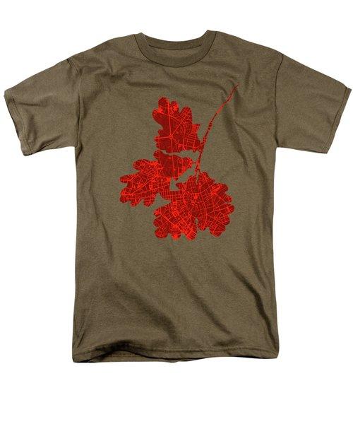 Berlin Classic Map Men's T-Shirt  (Regular Fit) by Jasone Ayerbe- Javier R Recco