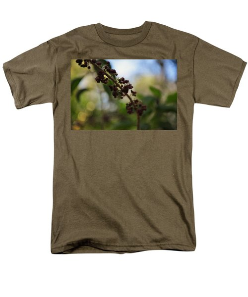 Men's T-Shirt  (Regular Fit) featuring the photograph Berry Branch by Artists With Autism Inc