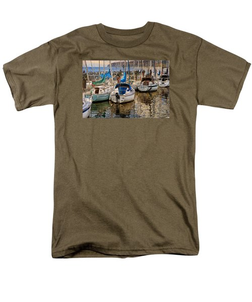 Berthed Men's T-Shirt  (Regular Fit) by Ed Hall