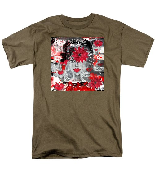 Besame Mucho Men's T-Shirt  (Regular Fit) by Sladjana Lazarevic