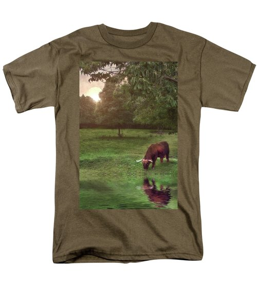 Men's T-Shirt  (Regular Fit) featuring the photograph Beside Still Waters by Mark Fuller