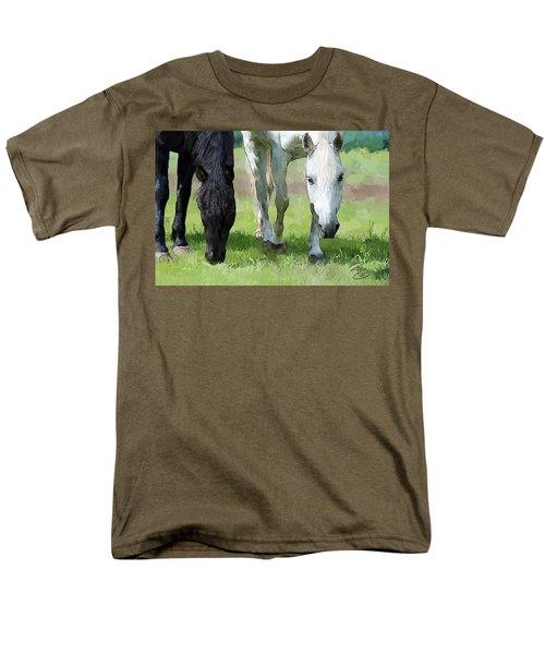 Best Buddies Men's T-Shirt  (Regular Fit) by Debra Baldwin