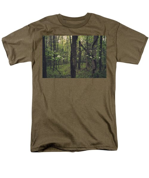 Between The Dogwoods Men's T-Shirt  (Regular Fit) by Shane Holsclaw