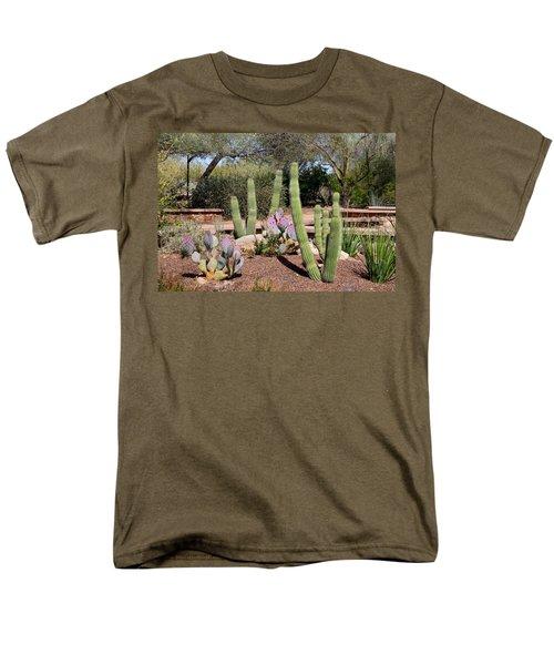 Men's T-Shirt  (Regular Fit) featuring the photograph Between Walls by Kathryn Meyer